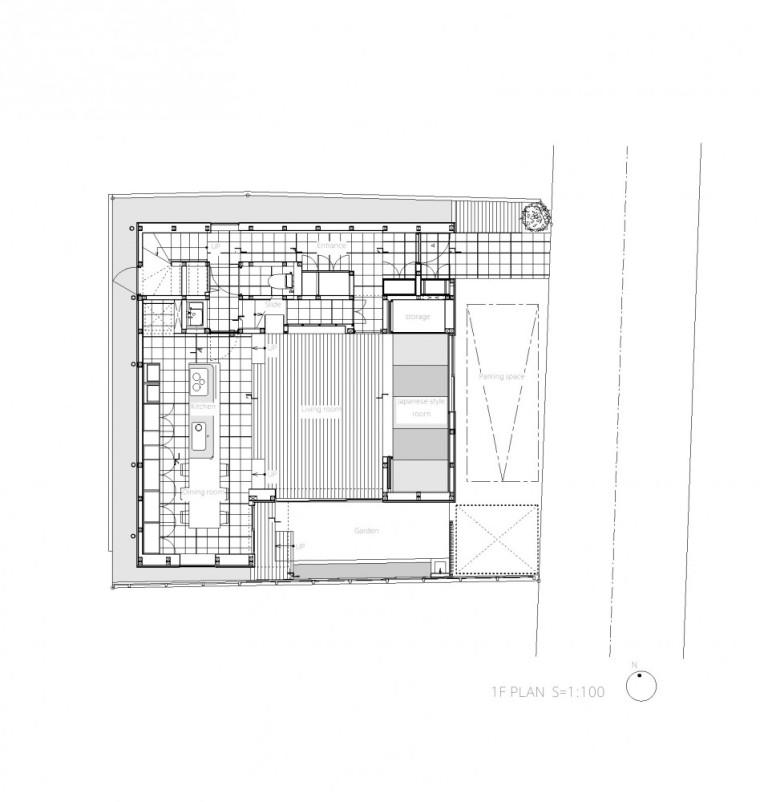 平面图03 Plan03-Togoshi住宅第23张图片