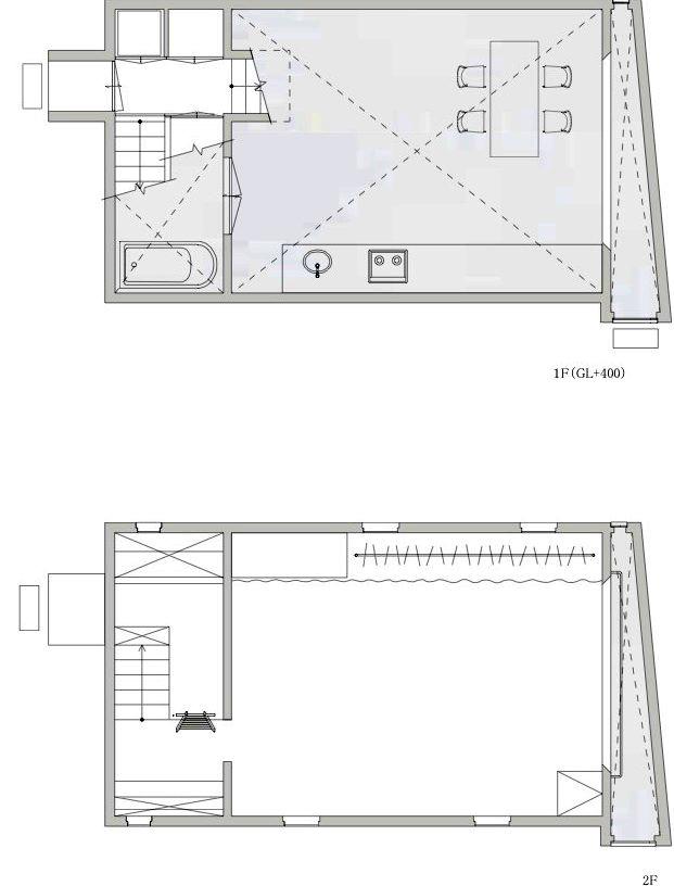 平面图03 Plans03-矩形光住宅第20张图片