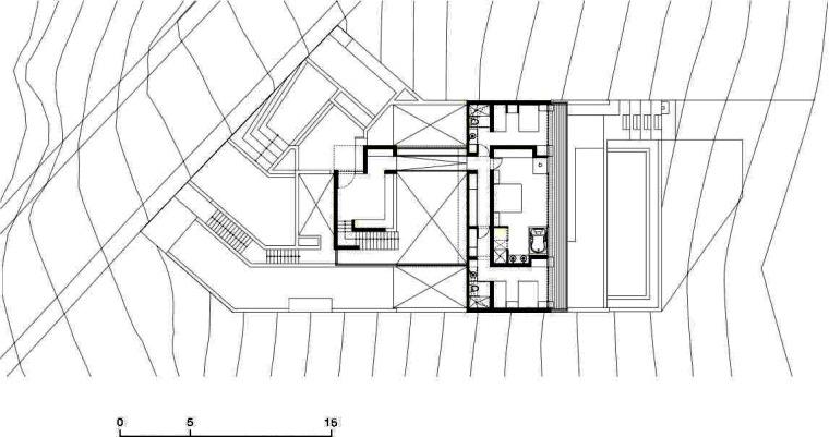 二层平面图 Second Floor Plan-Q海滩住宅第21张图片