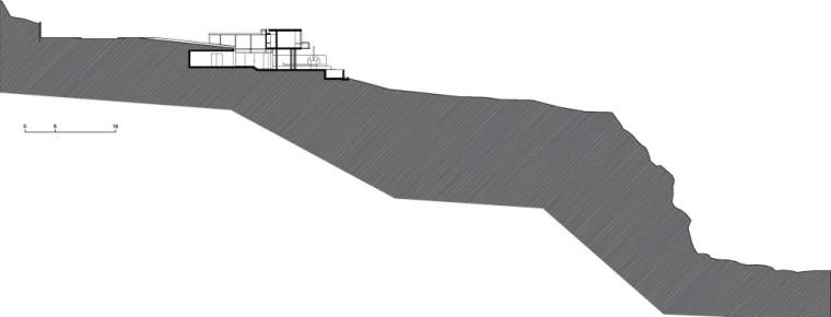 剖面图01 Section01-Q海滩住宅第23张图片
