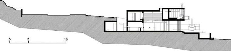 剖面图03 Section03-Q海滩住宅第25张图片