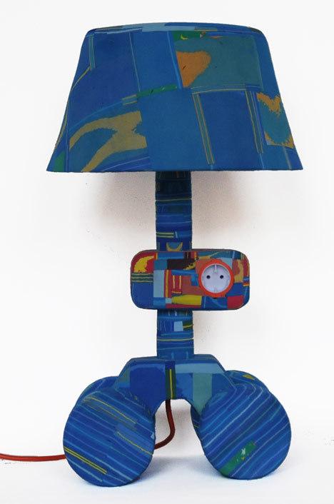 人字拖花瓶与灯具第3张图片