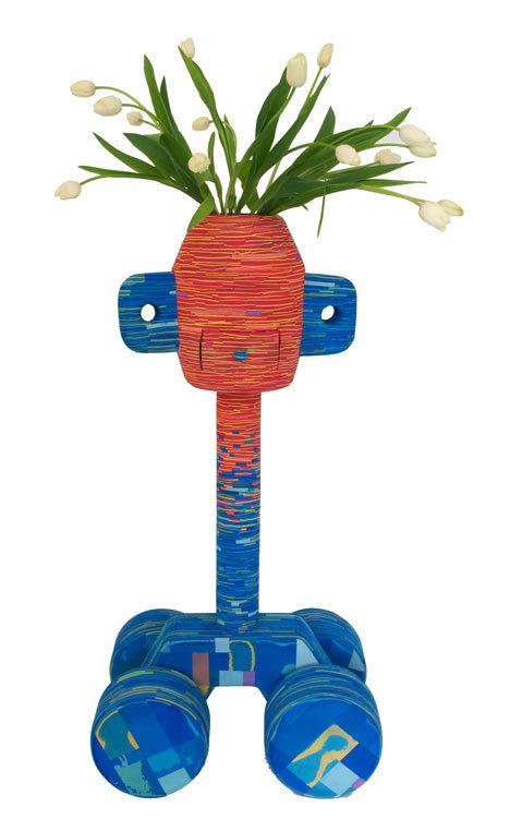 人字拖花瓶与灯具第5张图片