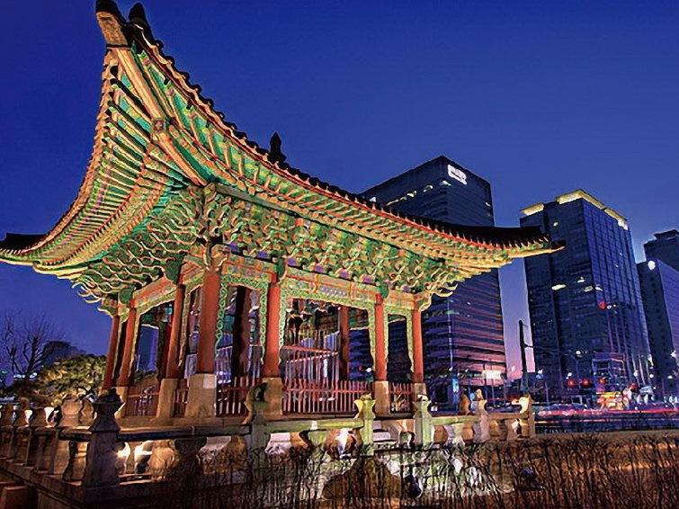 首尔照明掠影第1张图片
