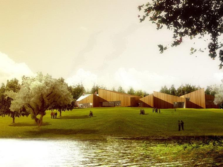 Serlachius博物馆扩建方案第1张图片