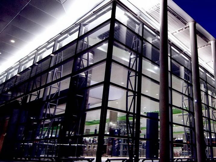 台湾高速铁路灯光规划设计-桃园站第1张图片