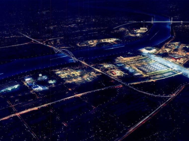 世博园区夜景照明总体规划第1张图片
