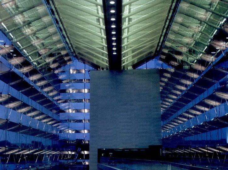 樟宜机场地铁站照明设计第1张图片