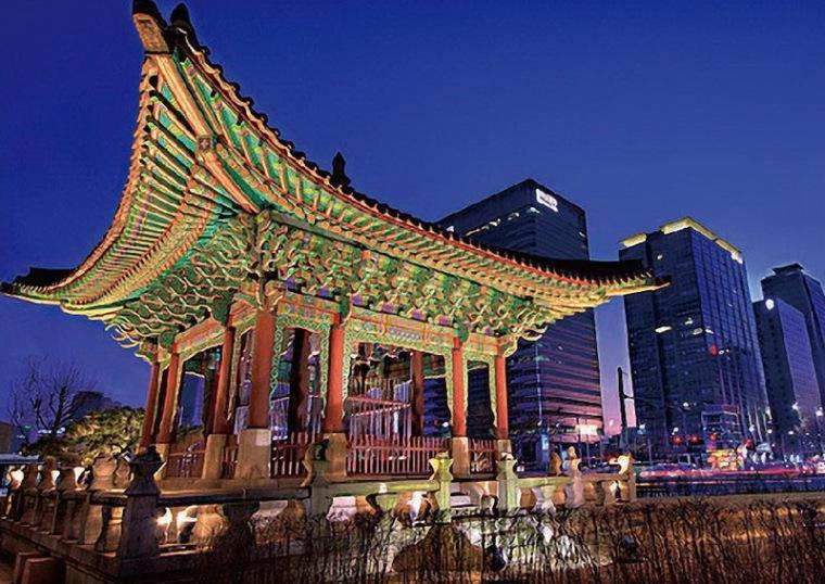 首尔照明掠影第2张图片