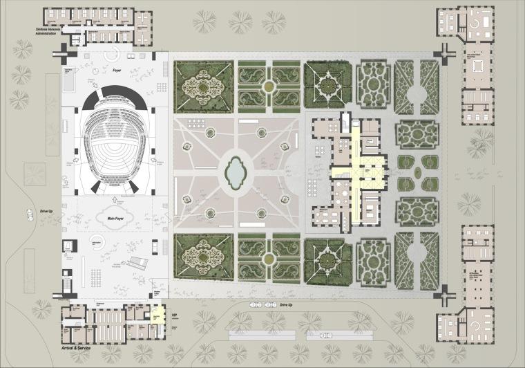 平面图03 plan03-Sinfonia Varsovia音乐厅第4张图片