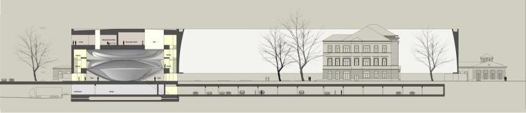 剖面图04 section04-Sinfonia Varsovia音乐厅第8张图片