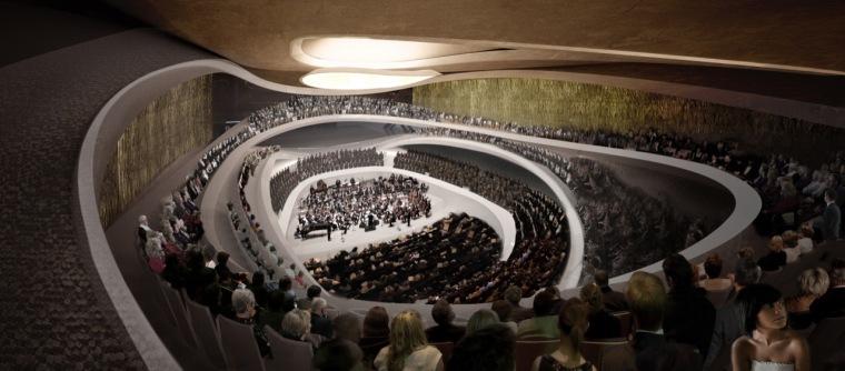 渲染01 rendering01-Sinfonia Varsovia音乐厅第12张图片