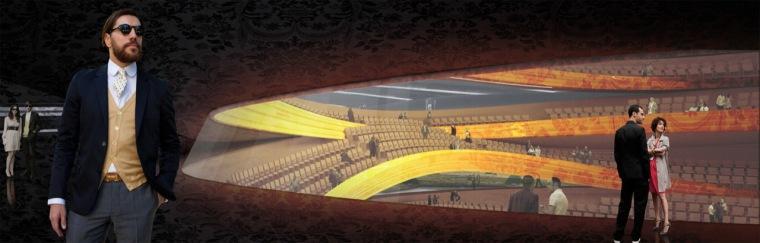 渲染02 rendering02-Sinfonia Varsovia音乐厅第13张图片