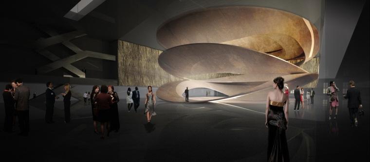 渲染03 rendering03-Sinfonia Varsovia音乐厅第14张图片