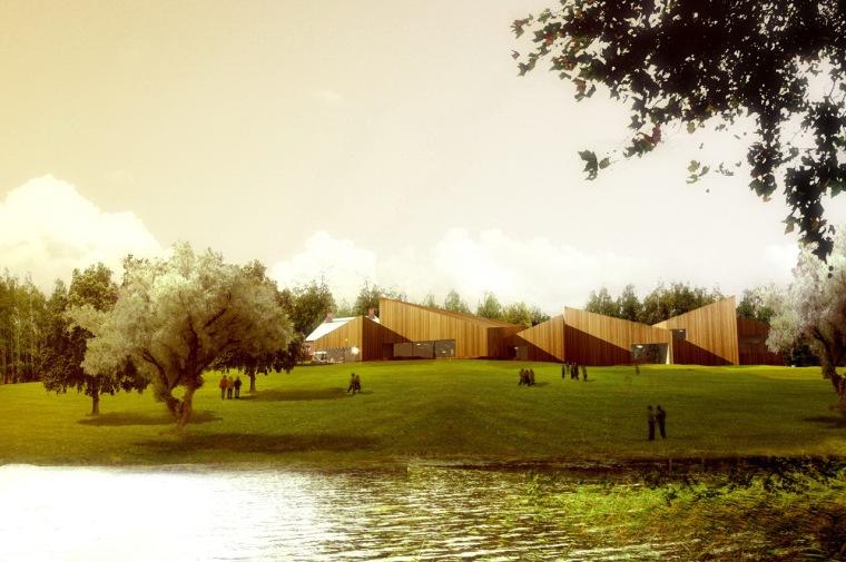 Serlachius博物馆扩建方案第2张图片