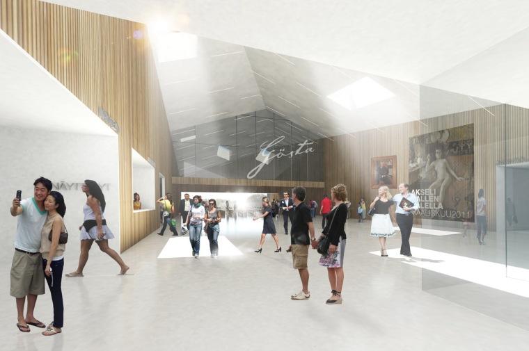 Serlachius博物馆扩建方案第5张图片