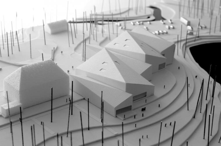 模型01 model 01-Serlachius博物馆扩建方案第7张图片