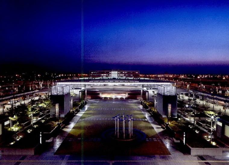 台湾高速铁路灯光规划设计-桃园站第3张图片