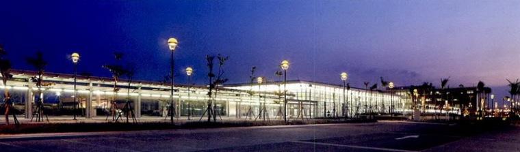 台湾高速铁路灯光规划设计-桃园站第5张图片