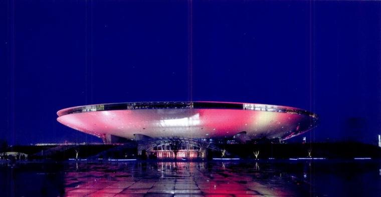 世博文化中心照明设计第3张图片