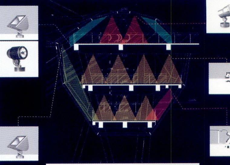 世博文化中心照明设计第9张图片