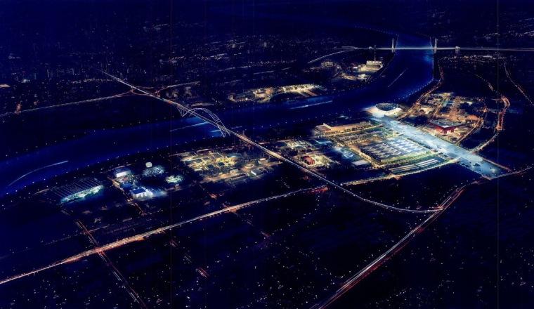 世博园区夜景照明总体规划第2张图片