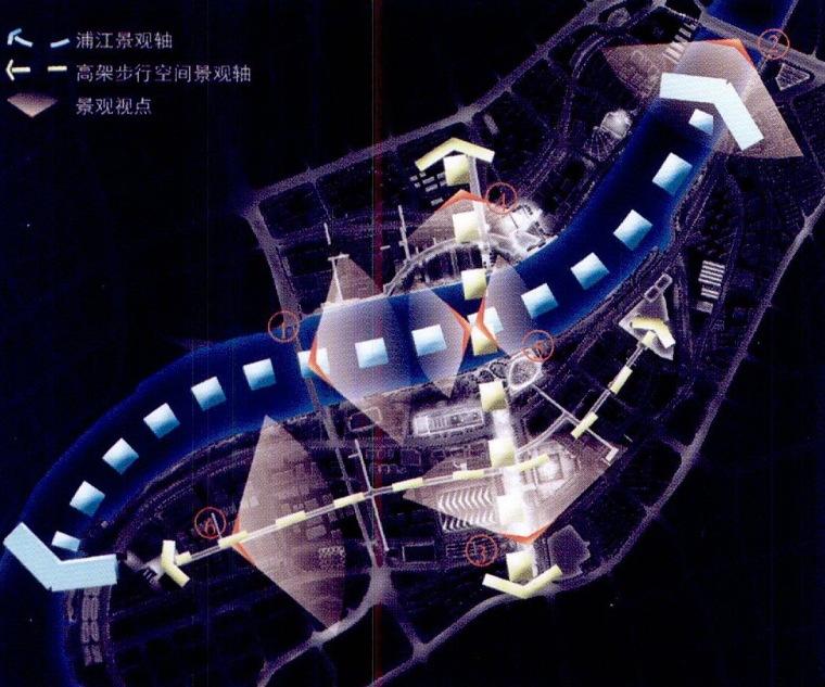 世博园区夜景照明总体规划第3张图片