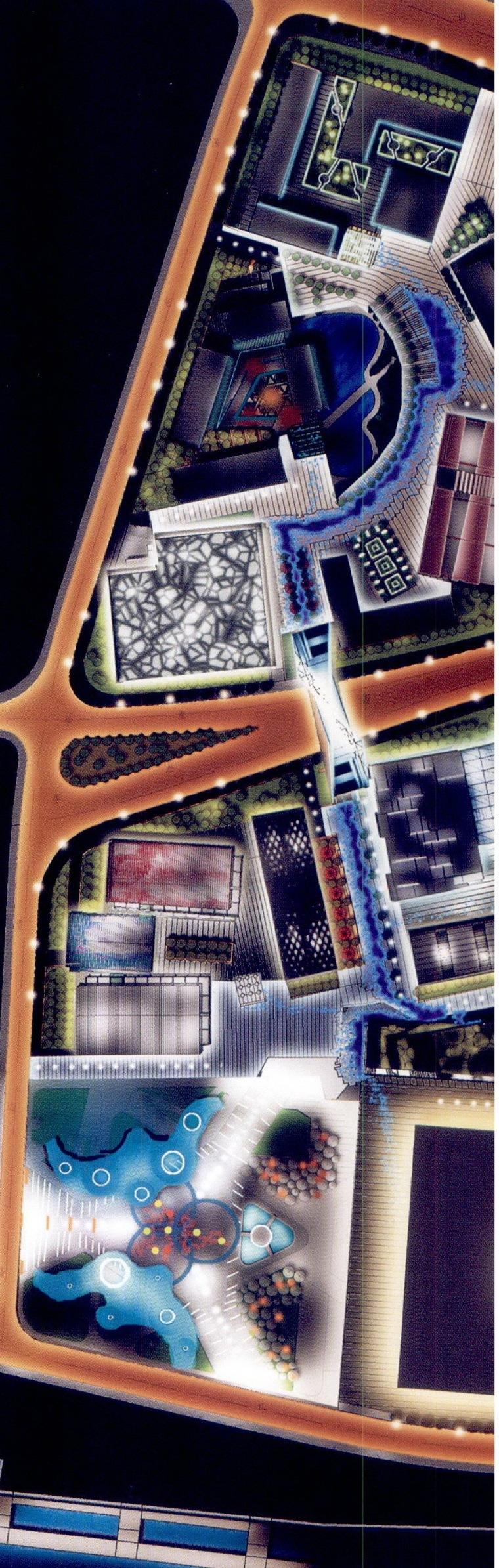 世博园区夜景照明总体规划第7张图片