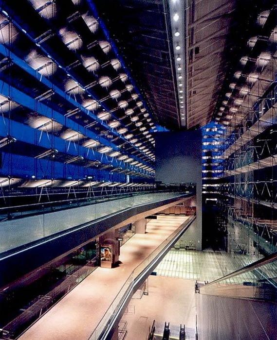 樟宜机场地铁站照明设计第4张图片