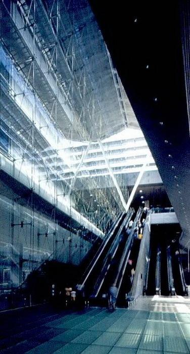 樟宜机场地铁站照明设计第6张图片
