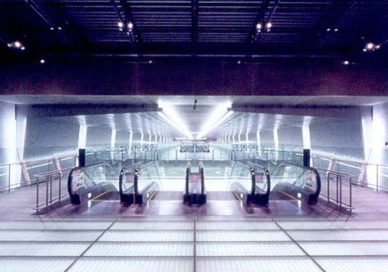 樟宜机场地铁站照明设计第7张图片