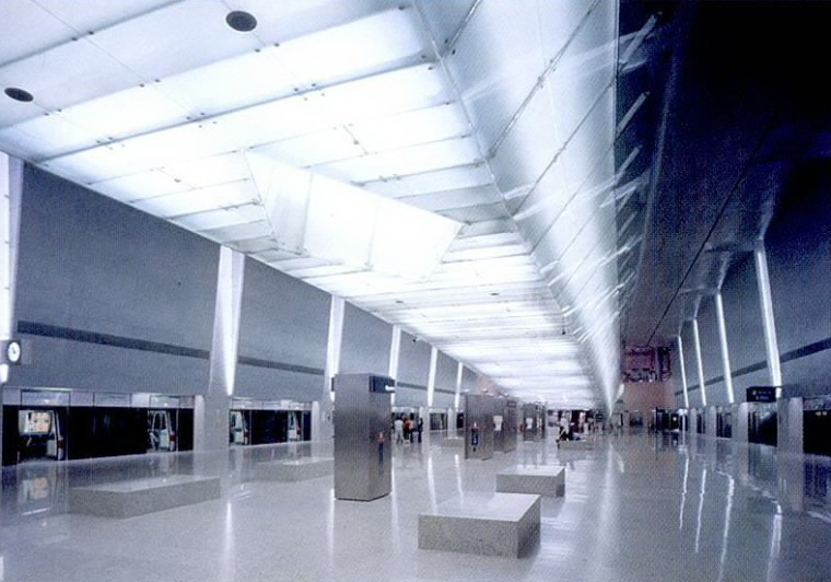 樟宜机场地铁站照明设计第9张图片