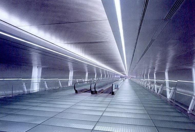 樟宜机场地铁站照明设计第10张图片
