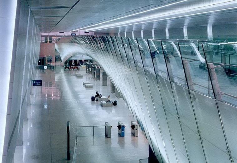 樟宜机场地铁站照明设计第11张图片