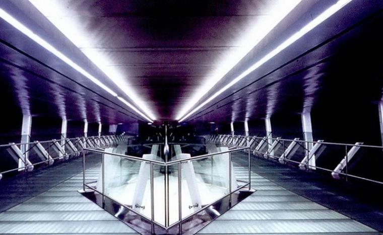樟宜机场地铁站照明设计第14张图片