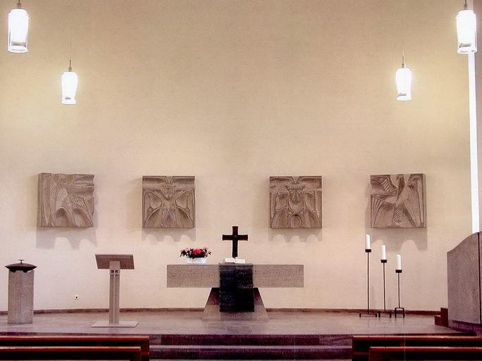 德国希斯海姆的新教教堂第1张图片