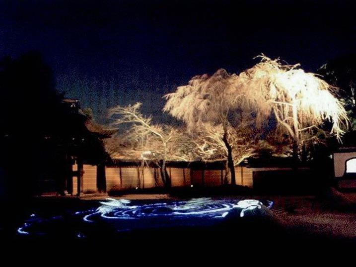 高台寺夜景照明第1张图片