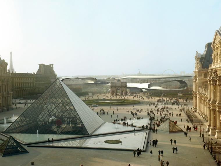 卢浮宫扩建第1张图片