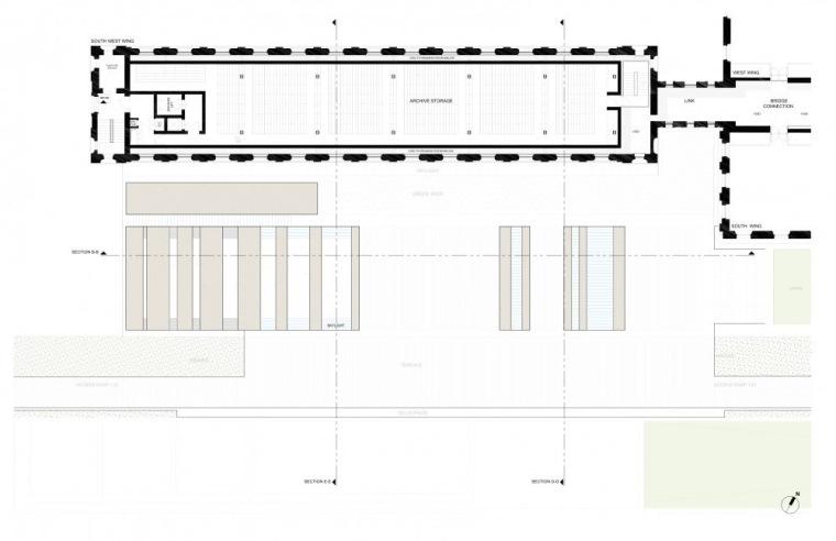 平面图01 Plan01-英国国家海洋博物馆扩建第30张图片