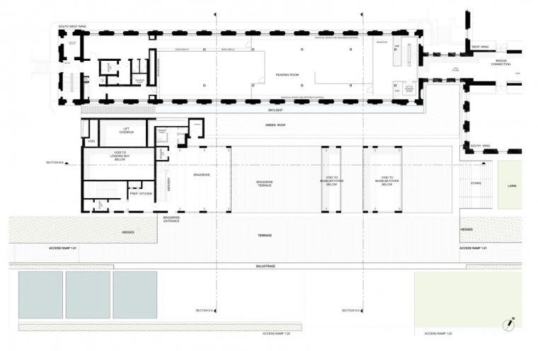 平面图02 Plan02-英国国家海洋博物馆扩建第31张图片