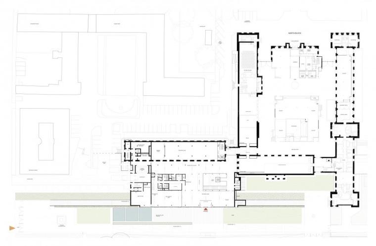 平面图03 Plan03-英国国家海洋博物馆扩建第32张图片