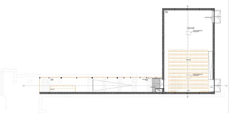 平面图 Plan-NO99稻草剧院第13张图片