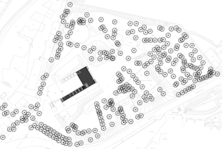 位置平面图 Site Plan-NO99稻草剧院第14张图片