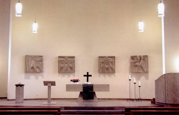 德国希斯海姆的新教教堂第5张图片