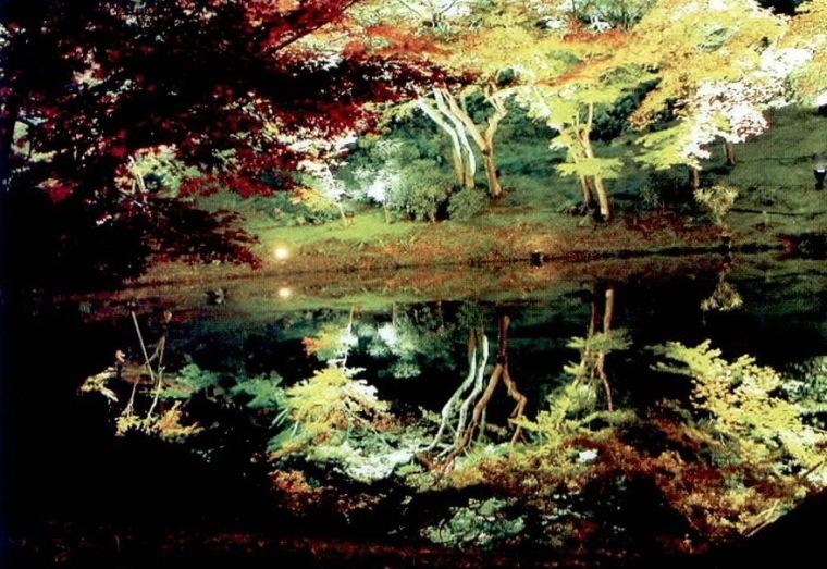 高台寺夜景照明第2张图片