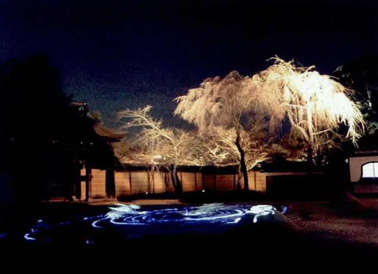 高台寺夜景照明第4张图片