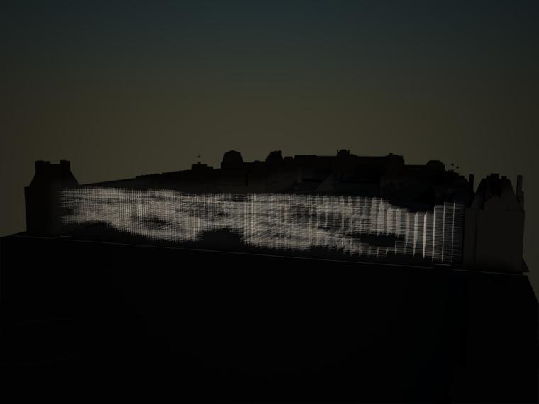 夜景图02 evening view 02-卢浮宫扩建第7张图片