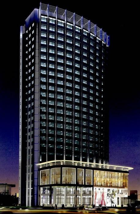 宁波科技园区夜景照明总体规划第4张图片