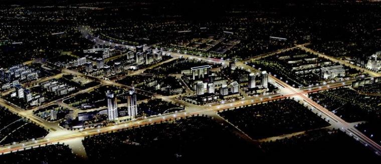 宁波科技园区夜景照明总体规划第7张图片