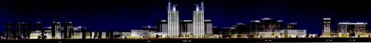 宁波科技园区夜景照明总体规划第12张图片